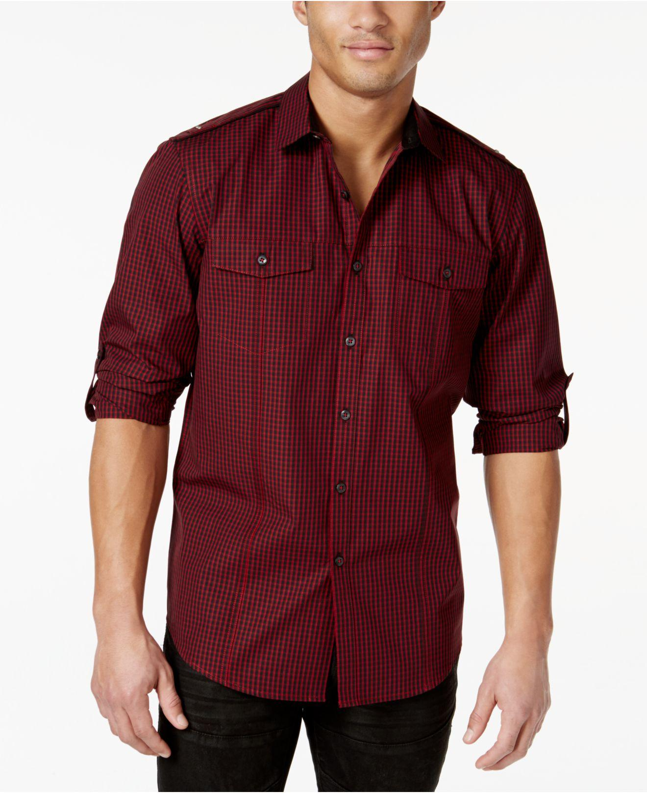 Inc International Concepts Core Topper Shirt In Red For