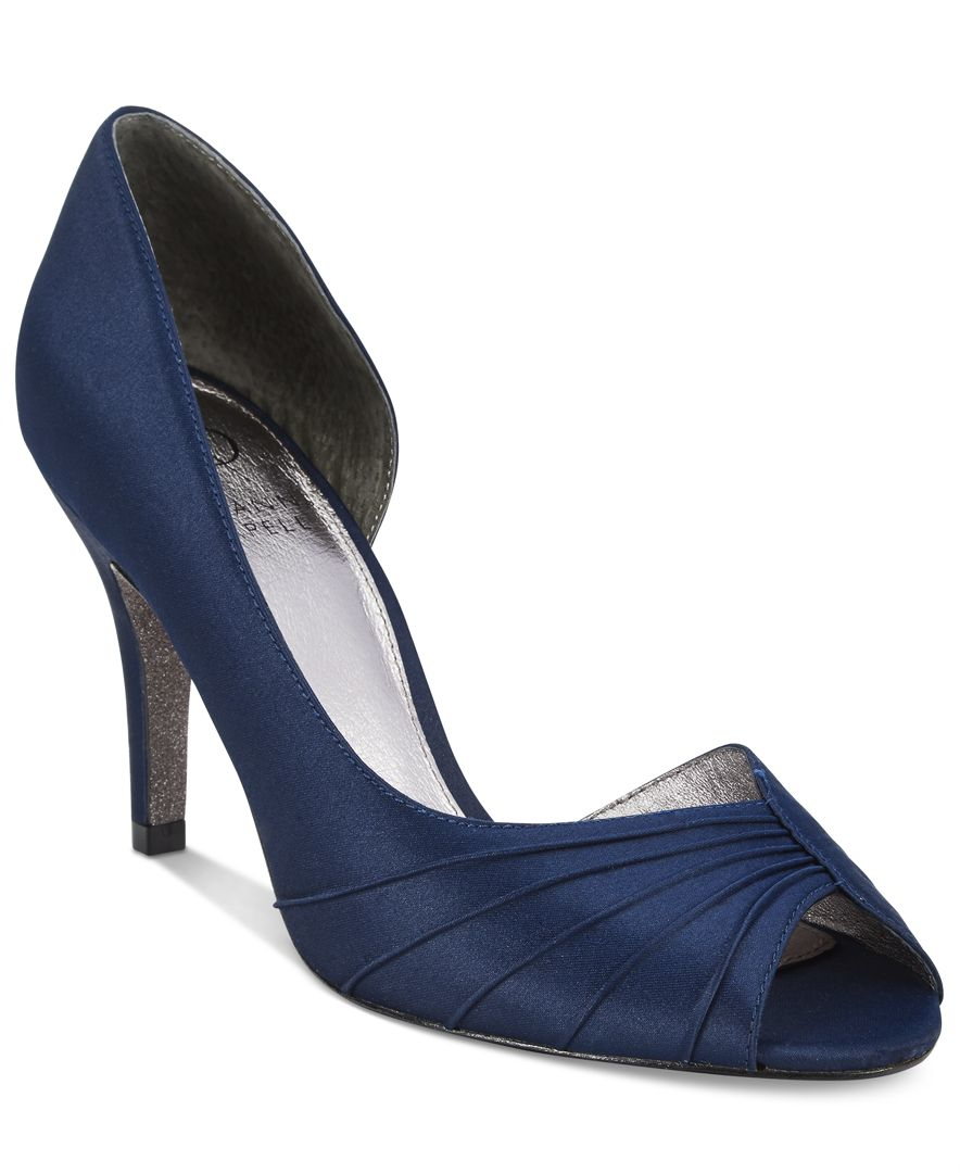 25a955aa50ee Lyst - Adrianna Papell Flynn D orsay Evening Pumps in Blue