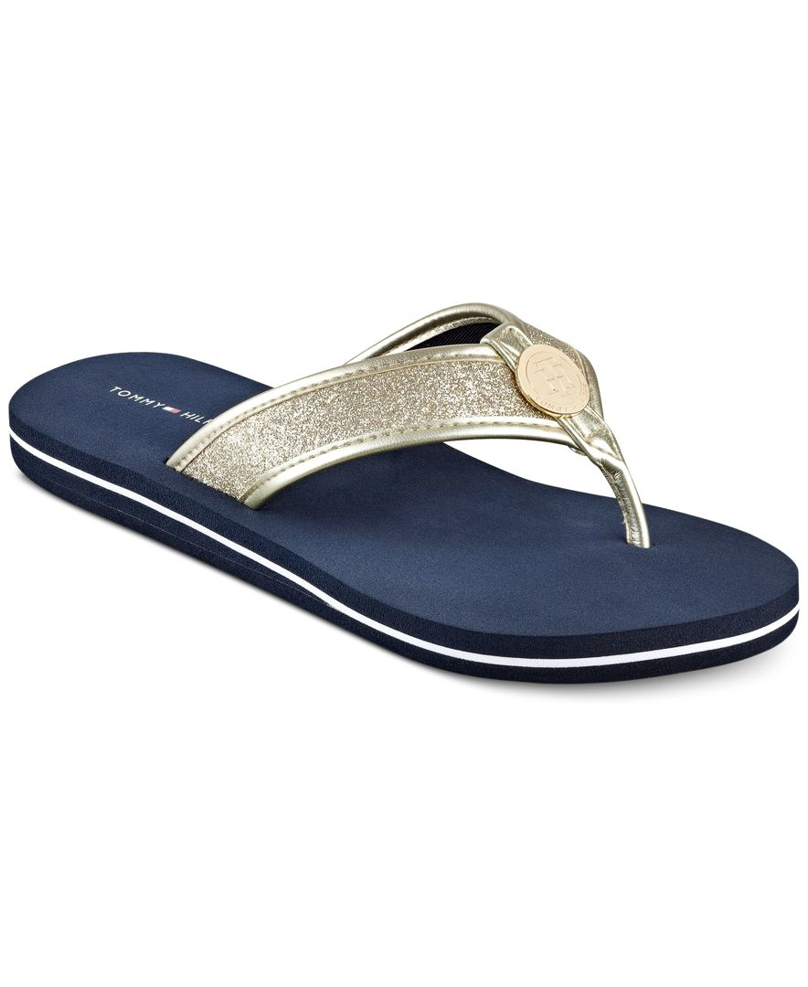 tommy hilfiger women 39 s clove flip flop thong sandals in. Black Bedroom Furniture Sets. Home Design Ideas