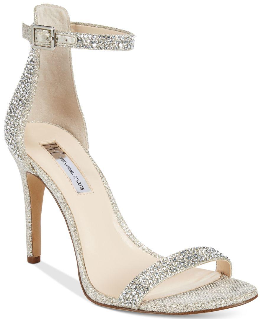 Macy S Silver Dress Shoes