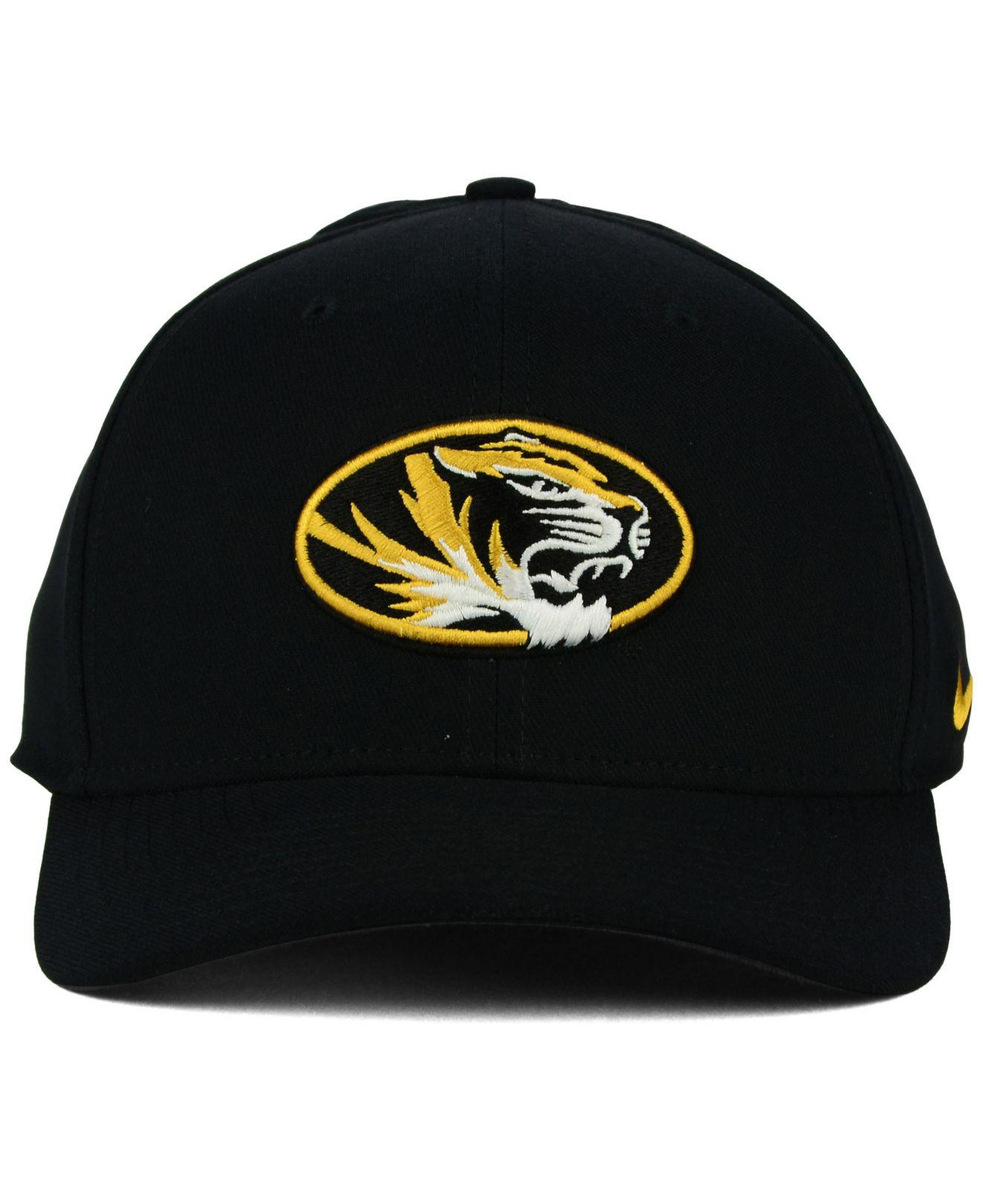 the latest 6dedb 8af7e coupon code missouri tigers camouflage caps 7dd6f d074f  reduced lyst nike missouri  tigers classic swoosh cap in black for men 3a80e a3398