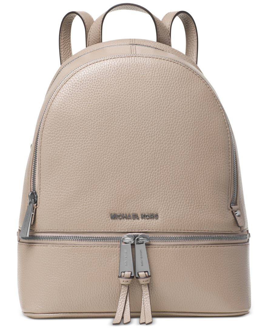 Lyst - Michael Kors Michael Rhea Zip Medium Backpack