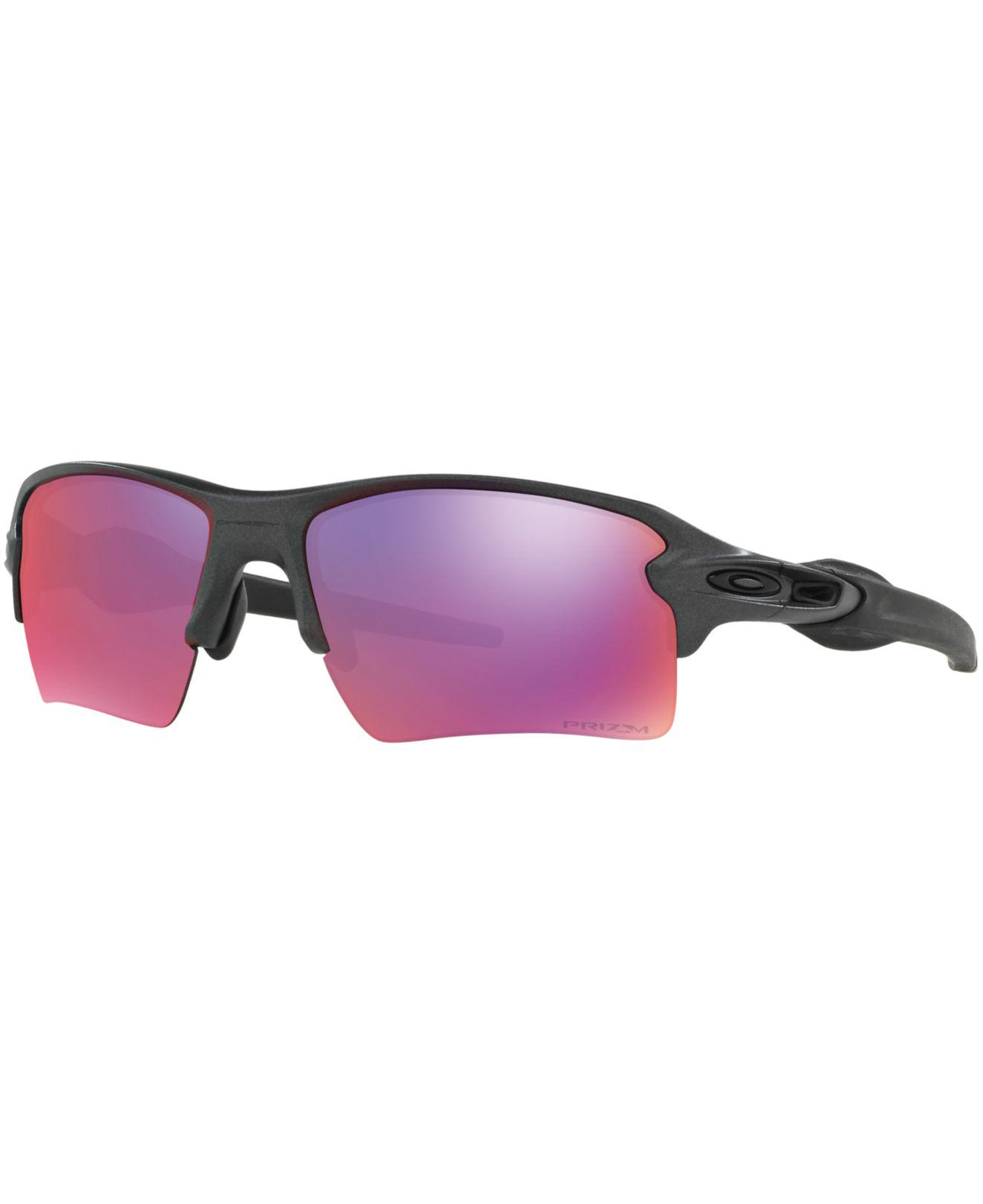 d35796a488c Lyst - Oakley Oo9188 Flak 2.0 Xl Prizm Road in Gray for Men