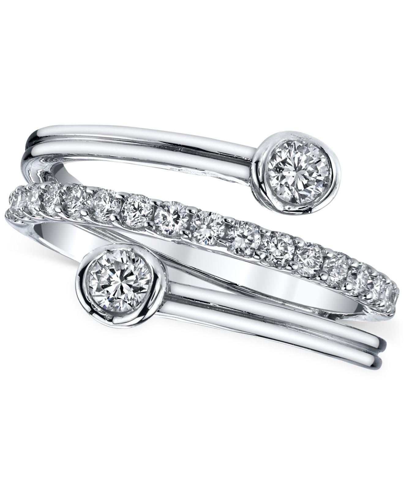 Sirena Diamond Ring In K Rose Gold