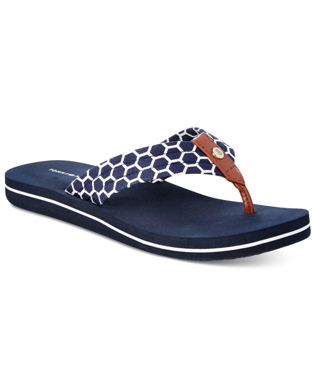 tommy hilfiger tommy hilfger cadeen flip flop sandals in. Black Bedroom Furniture Sets. Home Design Ideas