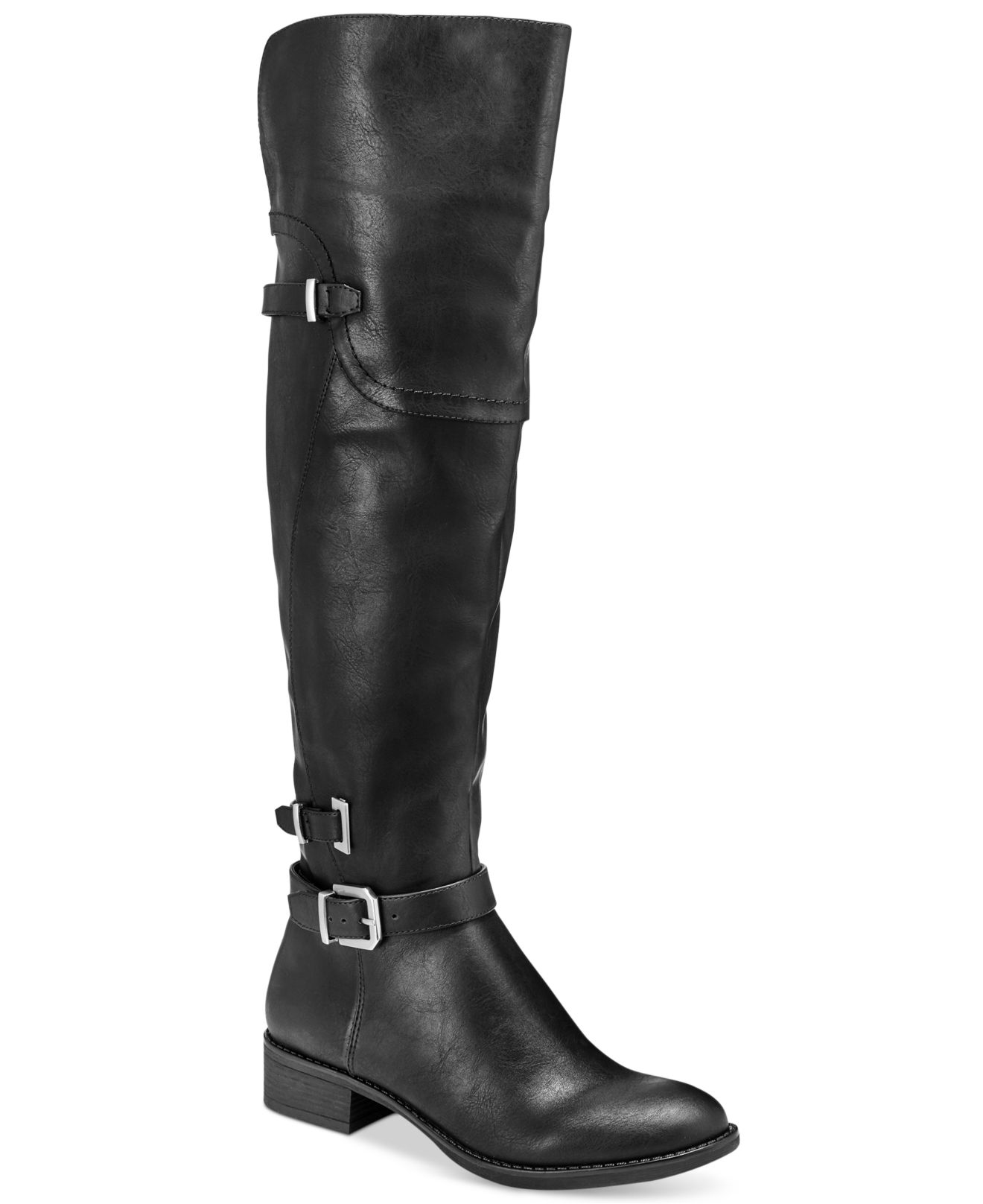 style co adaline the knee boots in black lyst