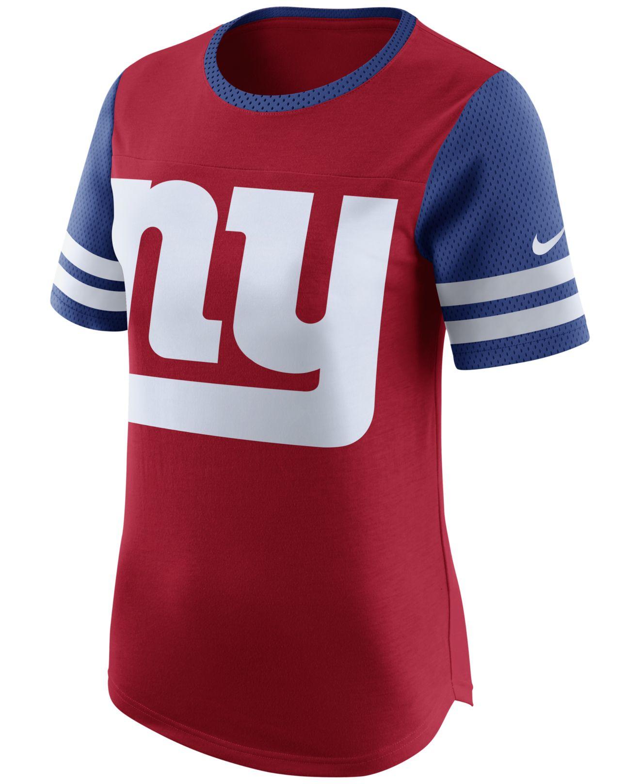 Lyst Nike Women 39 S New York Giants Gear Up Fan Top T