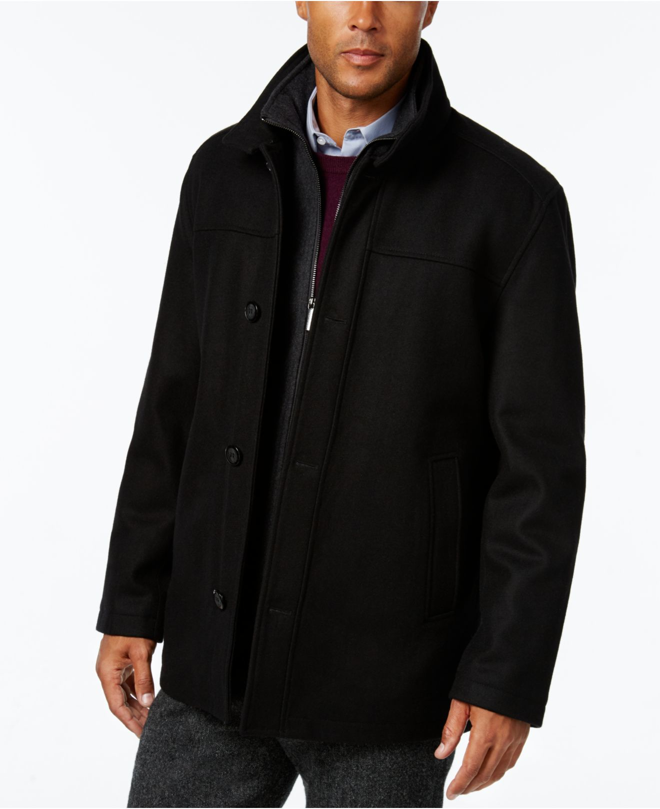 London Fog Classic Car Coat