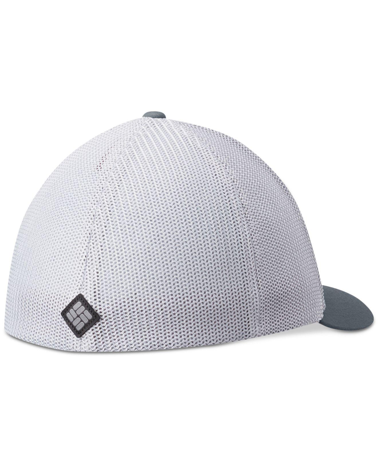 56131746103 Lyst - Columbia Tree Flag Mesh Flexfit Cap in Gray for Men