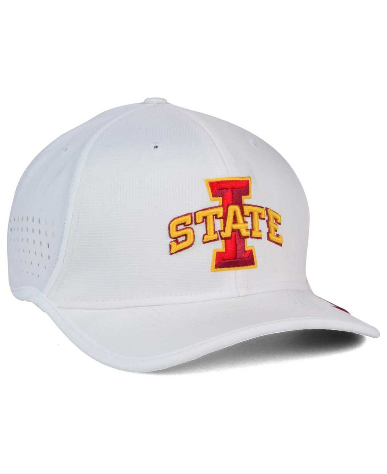 7baa189d0cb Lyst - Nike Iowa State Cyclones Vapor Sideline Coaches Cap in White ...