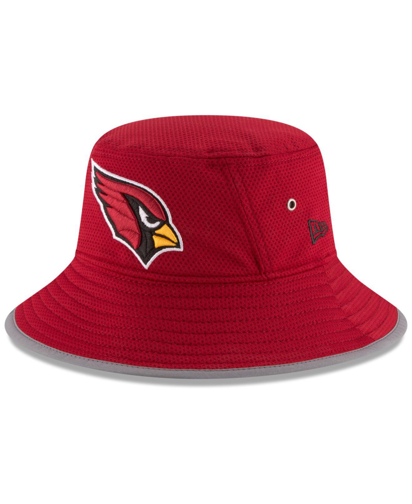 eeddc2c936f ... Men  fantastic savings da77b 45e6d Lyst - Ktz Arizona Cardinals Training  Camp Bucket Hat ...