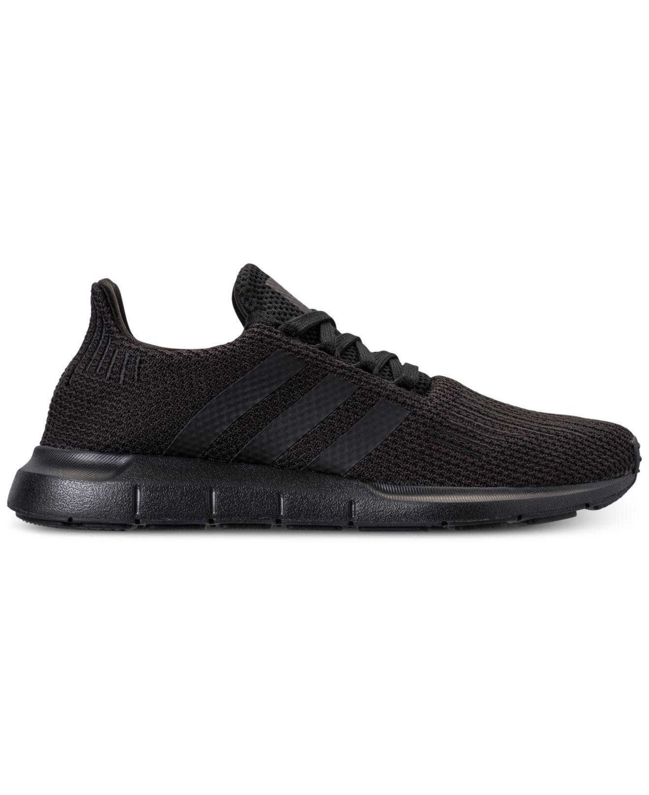 497b8412b Lyst - adidas Swift Run Casual Sneakers From Finish Line in Black for Men -  Save 10%
