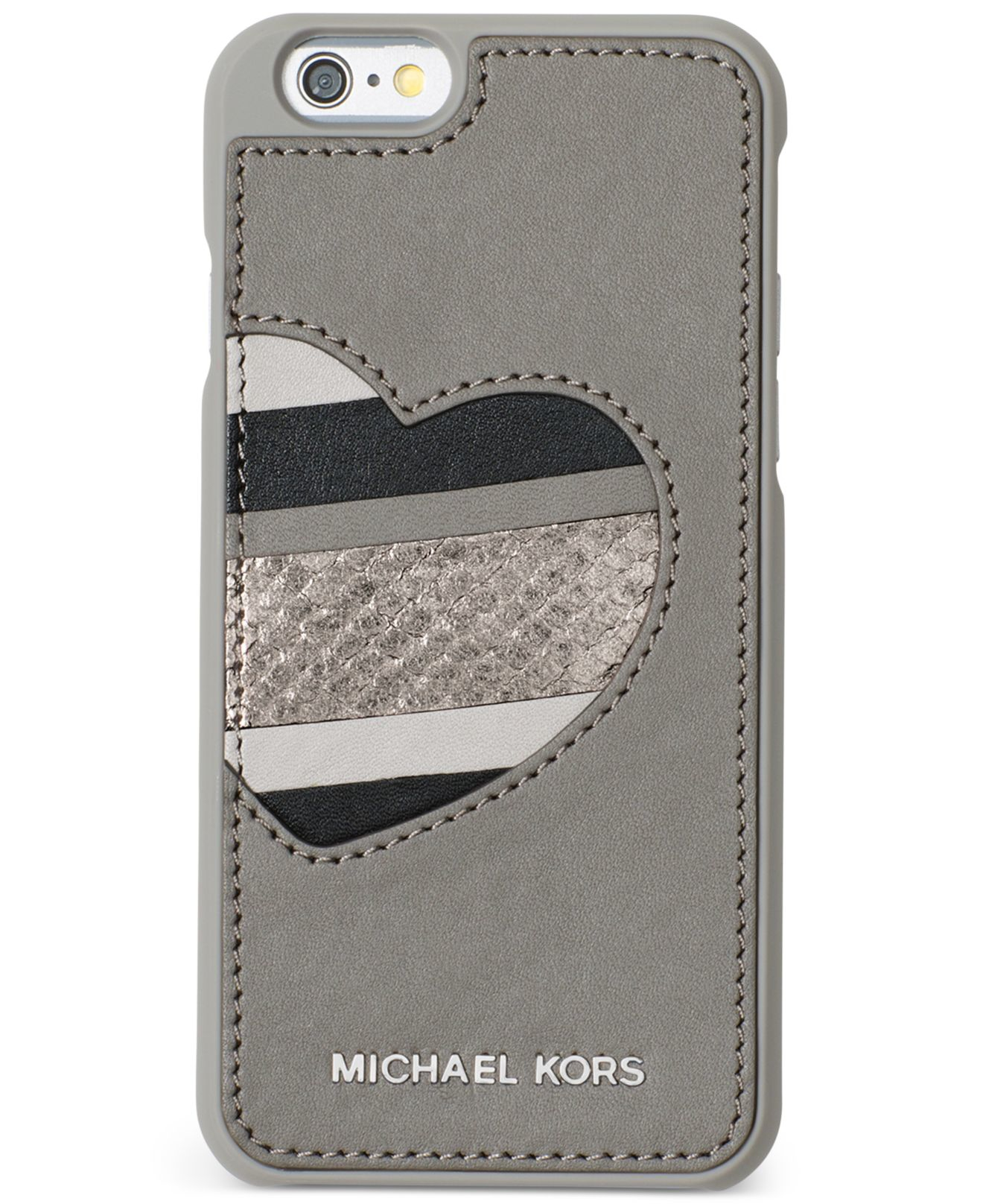 michael kors iphone lyst michael kors michael electronics iphone 6 cover in gray 567