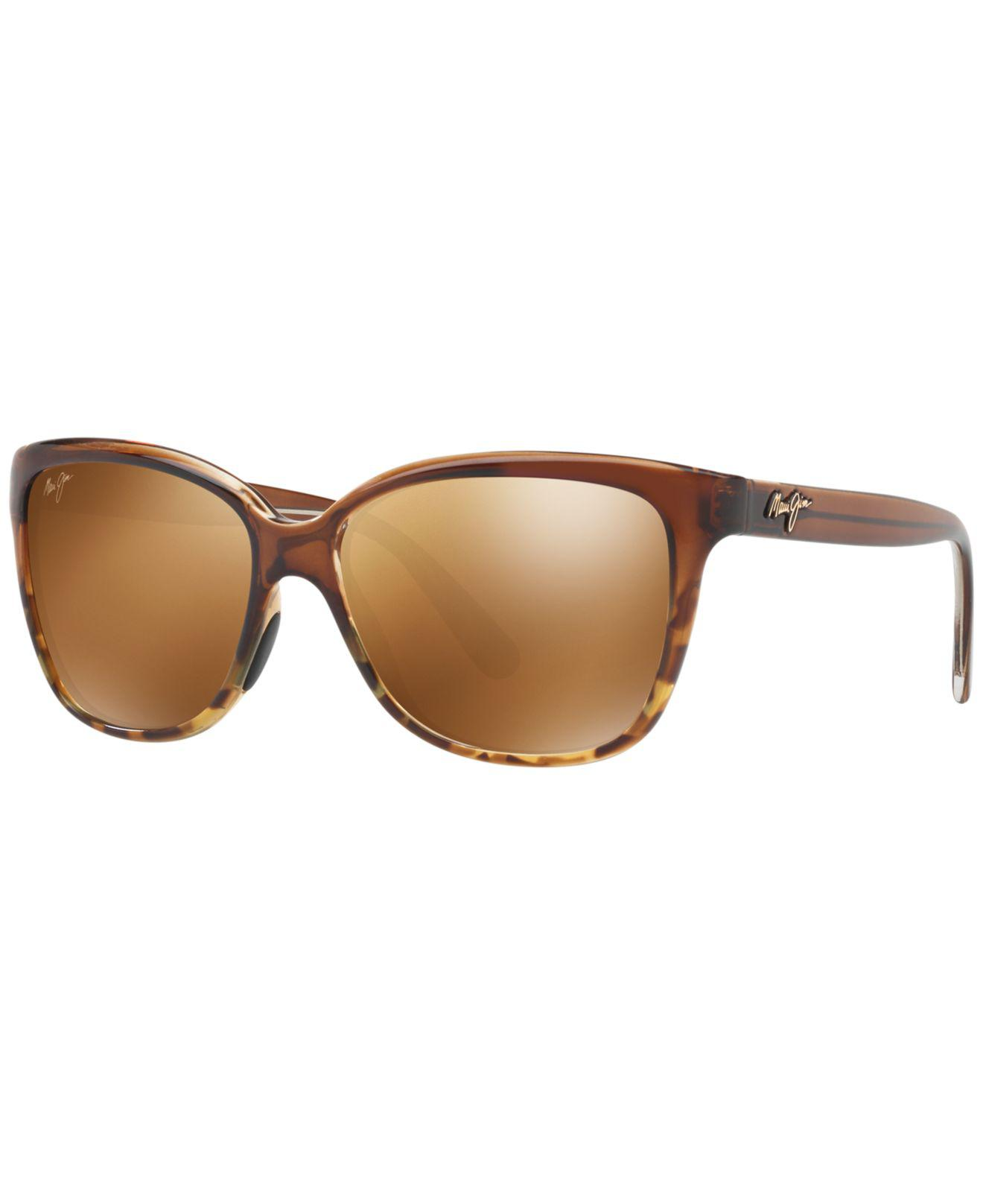 f992193db6 Lyst maui jim starfish sunglasses in brown jpg 1320x1616 Starfish sandstone  color polarized lenses sunglasses