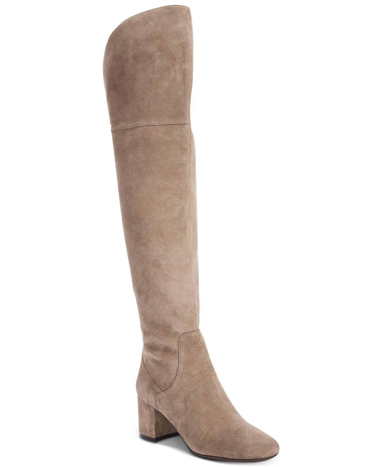 6a3e1e885b0 Lyst - Cole Haan Raina Grand Ii Over-the-knee Boots in Brown