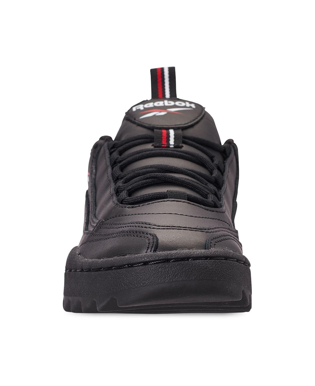 c69b13e7f7a7b Reebok - Black Classics Rivyx Ripple Casual Sneakers From Finish Line -  Lyst. View fullscreen
