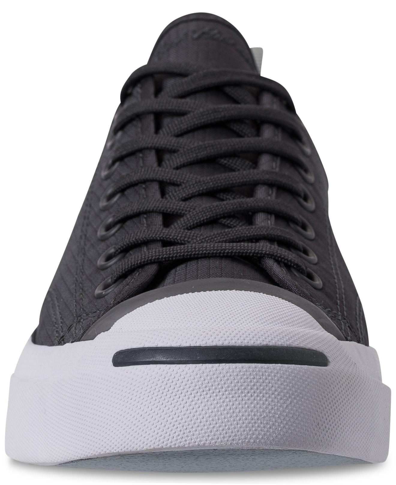 5c180393dd88 Lyst - Converse Jack Purcell Low Top Woven Textile Casual Sneakers ...