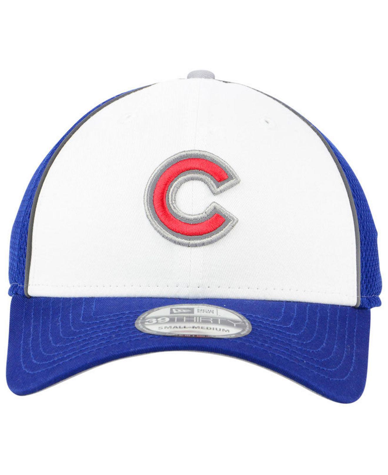 premium selection e2b24 9b747 Lyst - KTZ Chicago Cubs Pop Reflective 39thirty Cap in Blue for Men