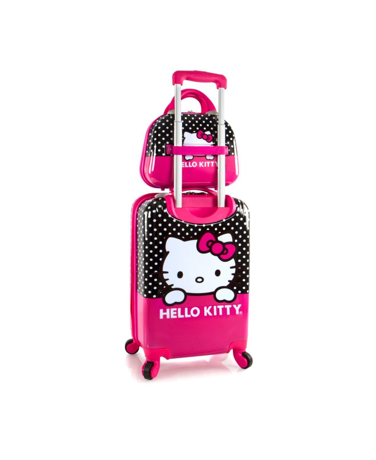 4326d43465aa Lyst - Heys Hello Kitty 2pc Luggage Set in Pink