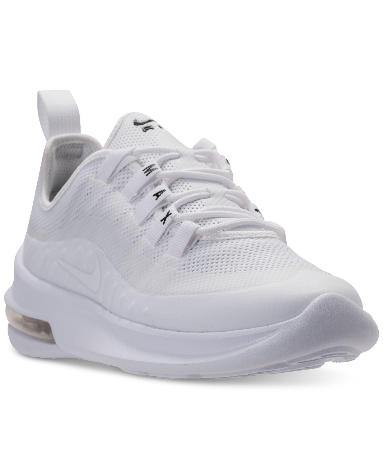 detailed look 4f85e 17ef7 Nike Air Max Axis Casual Sneakers From Finish Line in White - Lyst