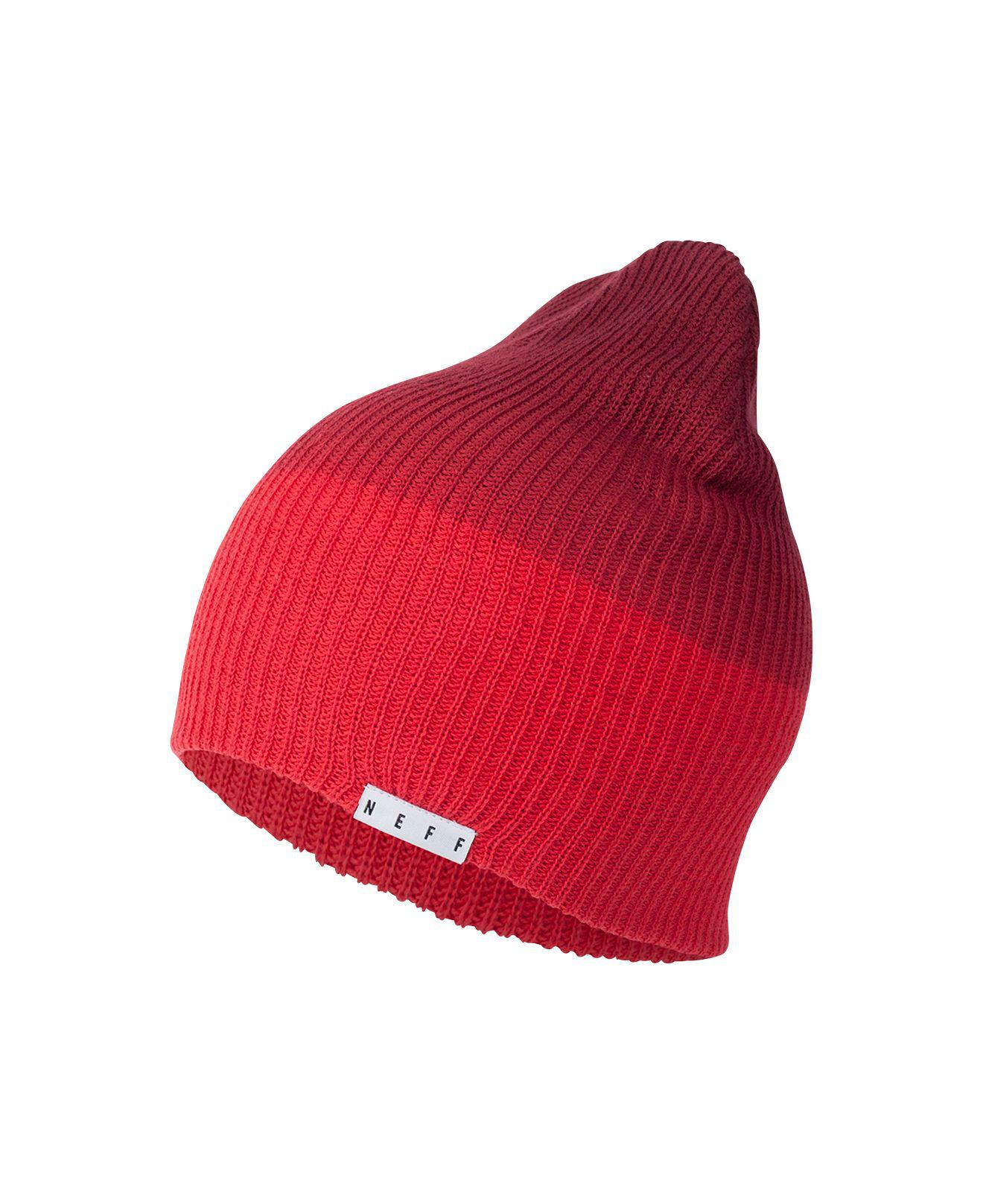 c56e486d37f Lyst - Neff Duo Wash Beanie in Red for Men