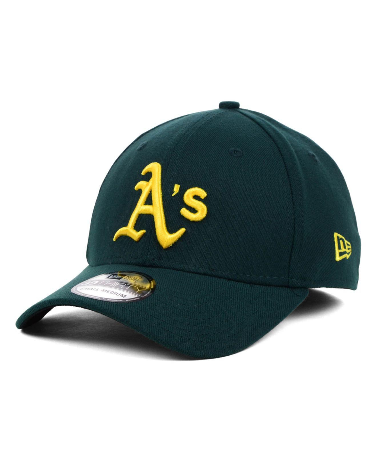 e3b7f75d32f0c ... usa ktz. mens green oakland athletics mlb team classic 39thirty cap  c175a c3f44