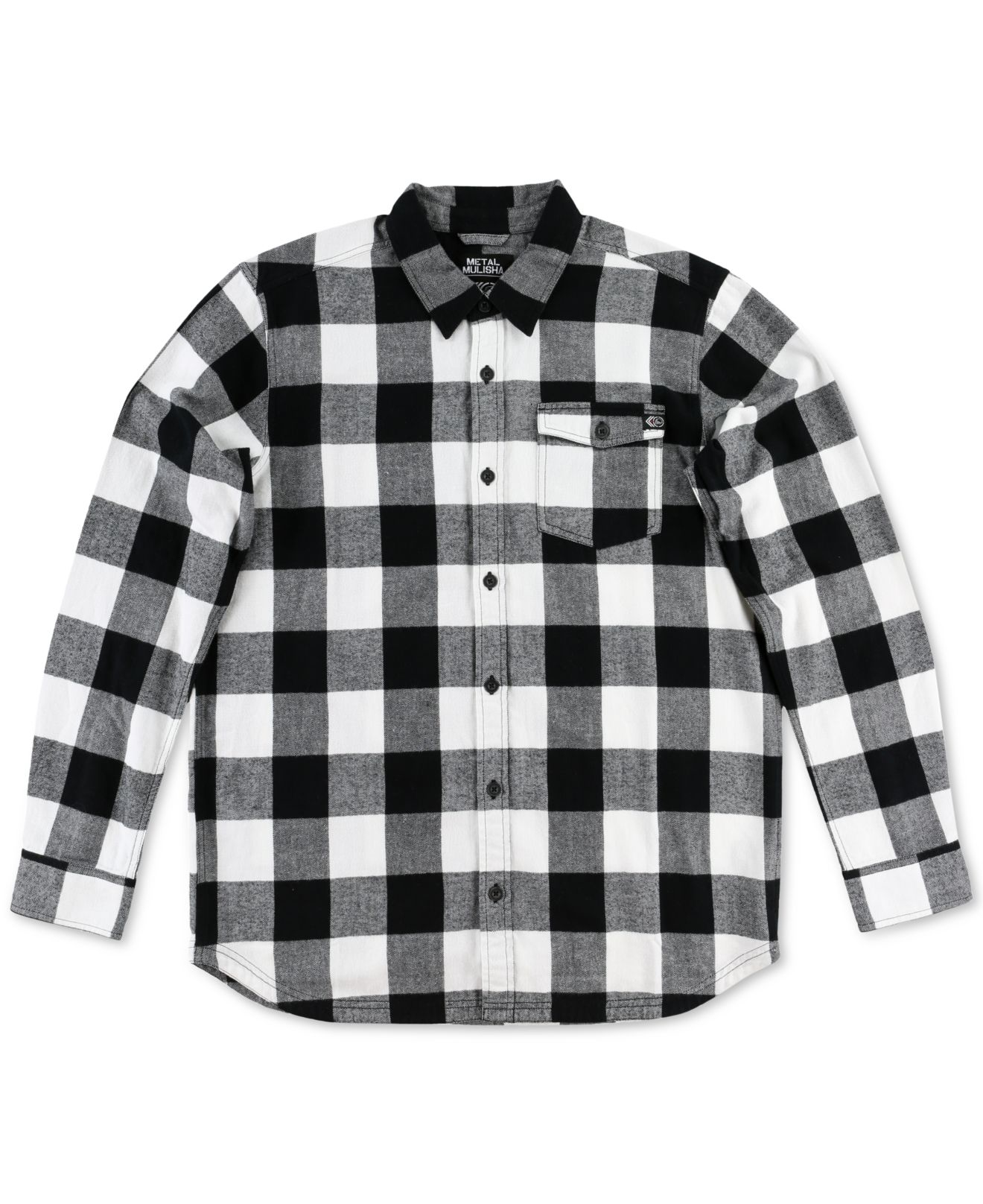 Lyst Metal Mulisha Men 39 S Explicit Buffalo Plaid Flannel