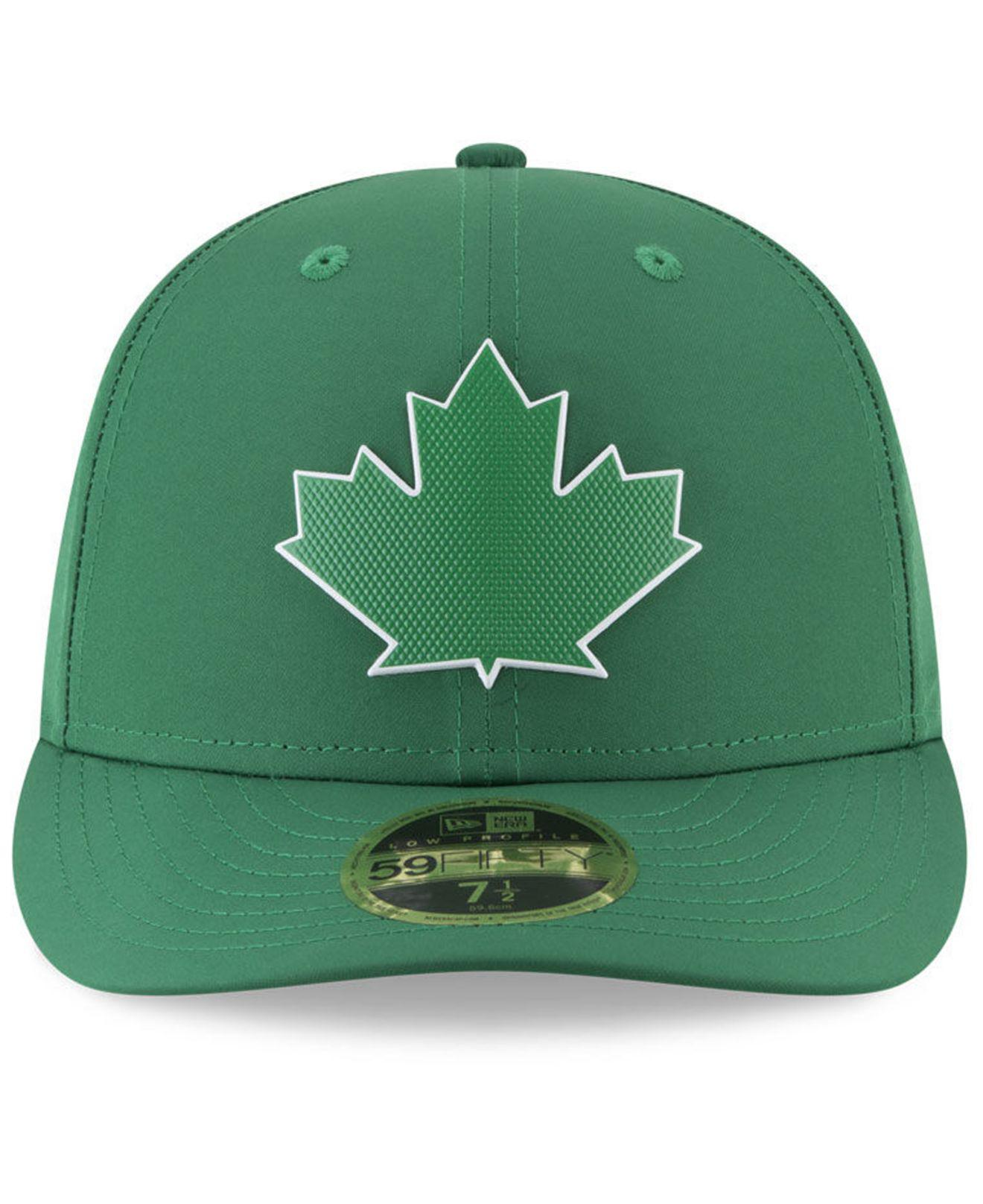 low priced 22056 c84c0 ... fitted hat green 334bd c6f3c  top quality lyst ktz toronto blue jays st.  pattys day pro light low crown 59fifty