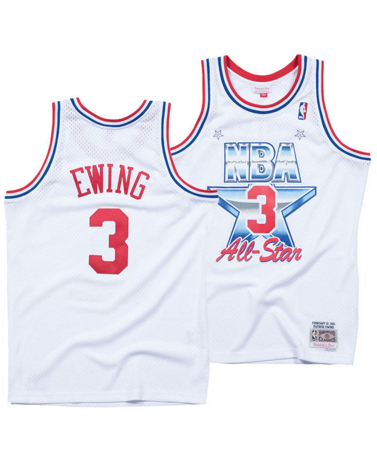 Lyst - Mitchell   Ness Patrick Ewing Nba All Star 1991 Swingman ... 77ea4e19b