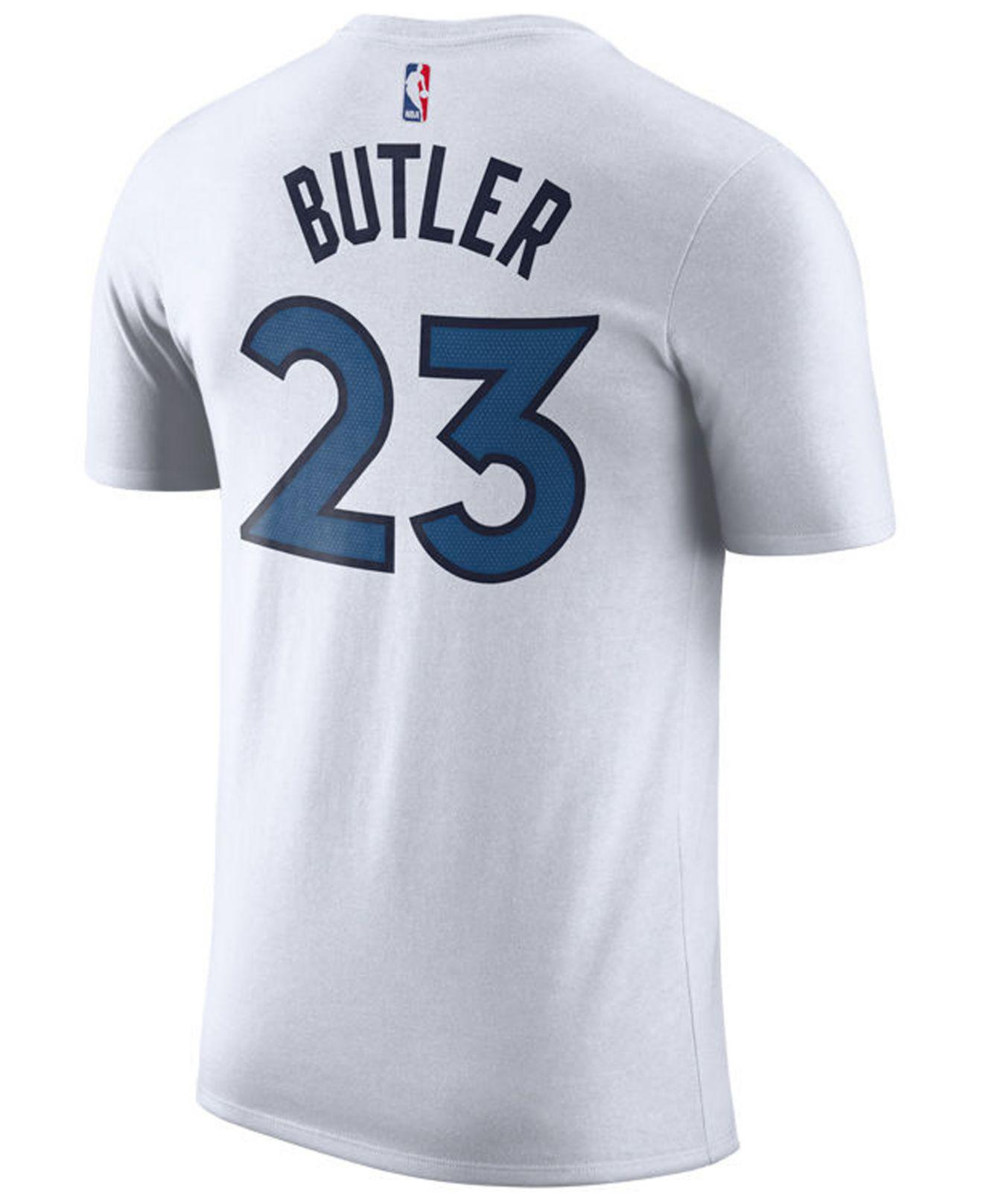 Nike. Men s White Jimmy Butler Minnesota Timberwolves Association Player T- shirt 32b0ea4c4