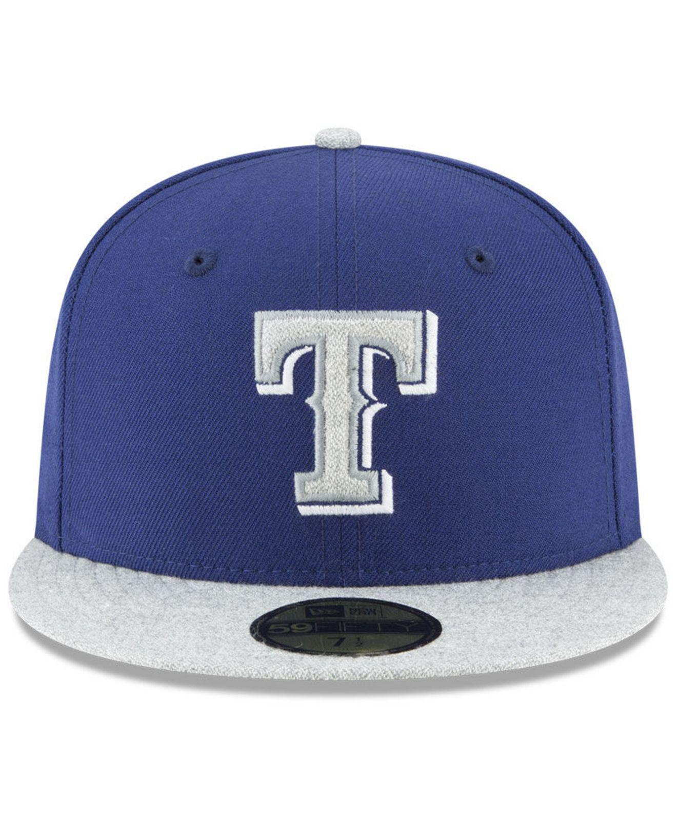 Lyst - Ktz Texas Rangers Pop Color 59fifty Fitted Cap in Blue for Men 5f36e93f0581