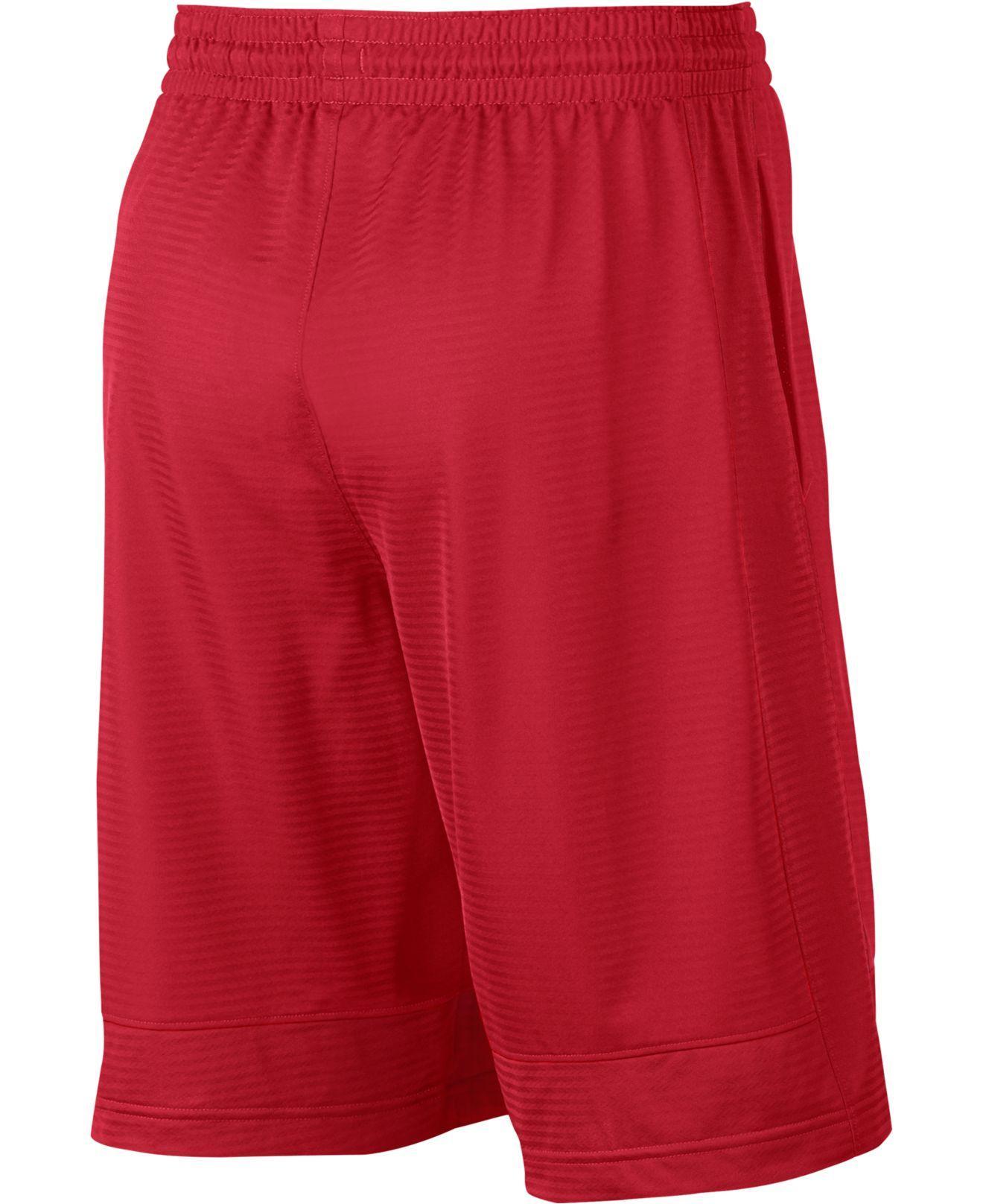 37d0d166062 Lyst - Nike Men s Dri-fit Fast Break Basketball Shorts in Red for Men