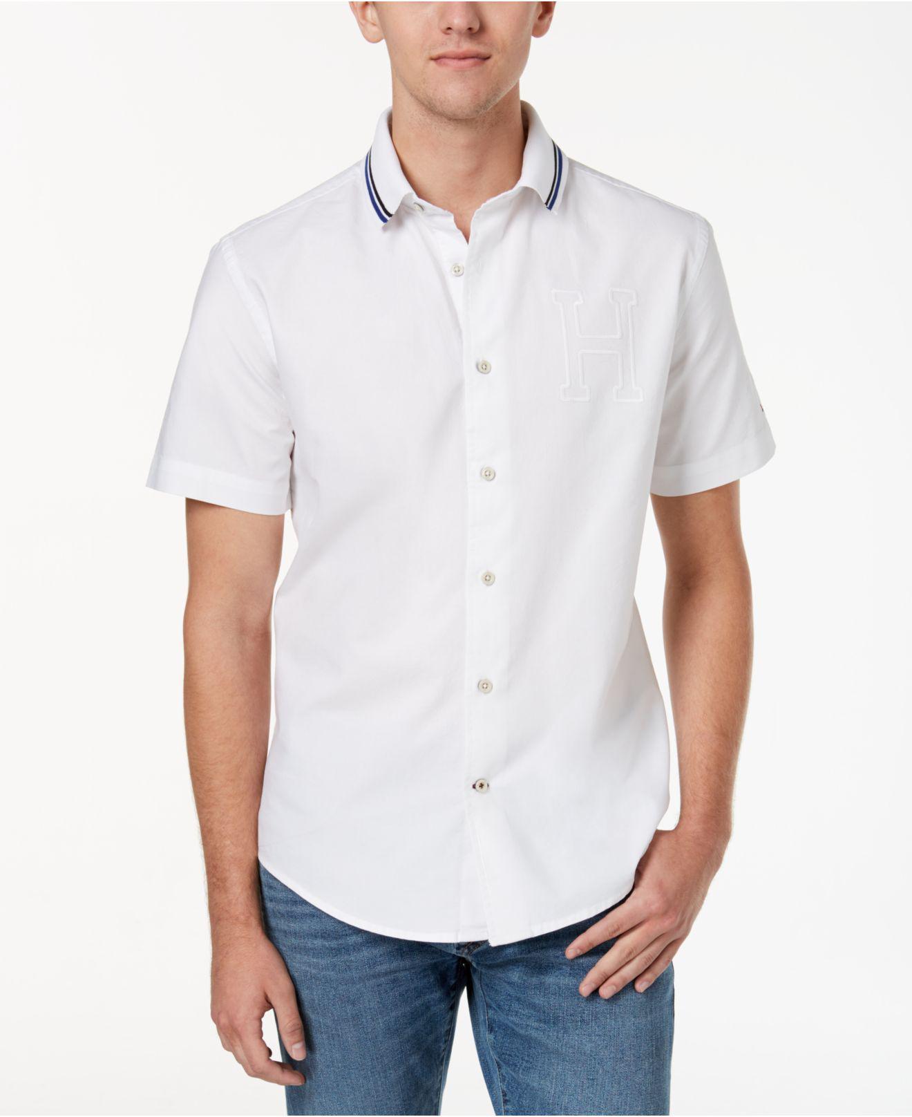 3810c8cb Lyst - Tommy Hilfiger Men's Albert Shirt in White for Men
