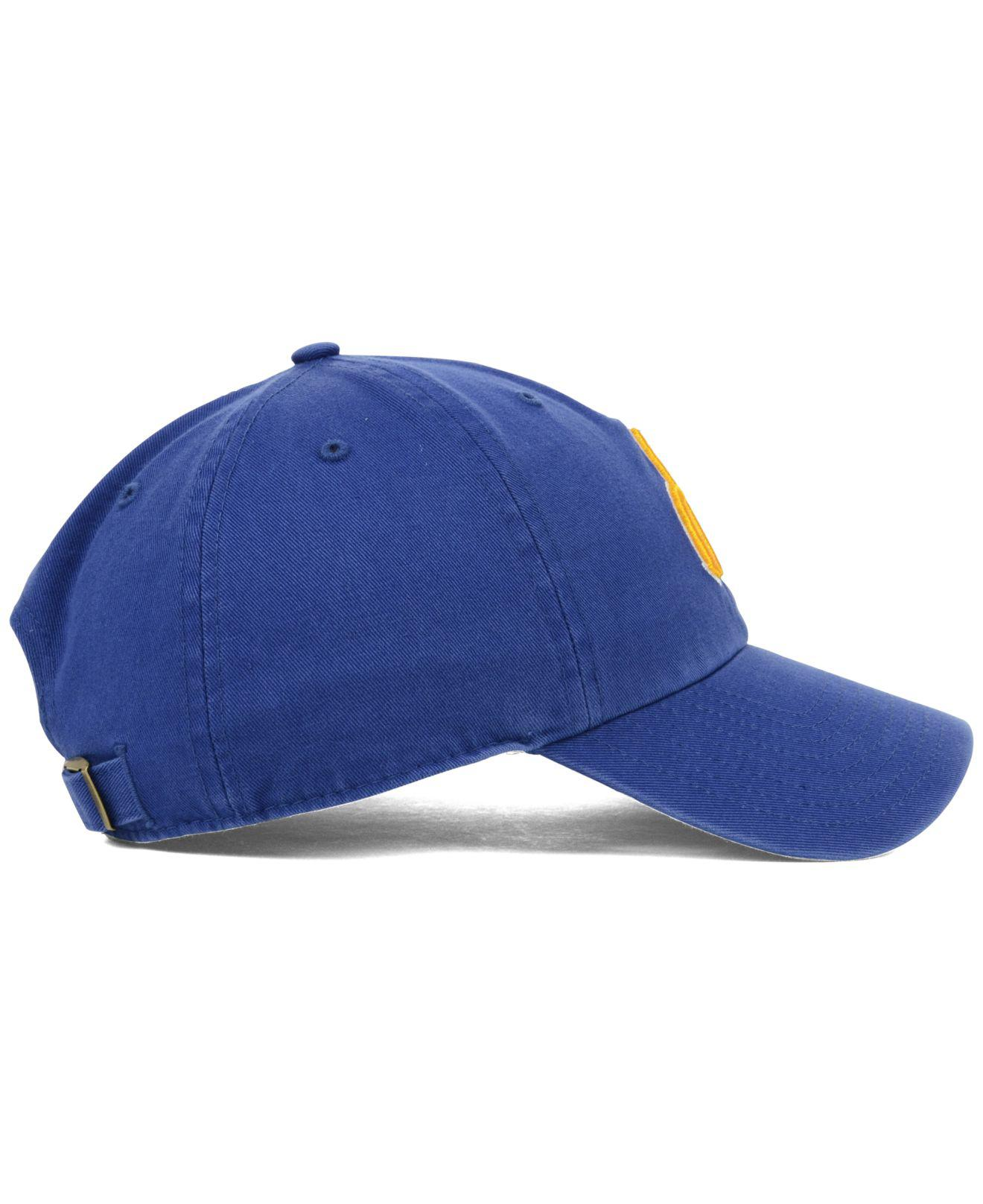 online store 56895 2940f ... shopping lyst 47 brand seattle mariners clean up cap in blue for men  3d5ca 0c71f