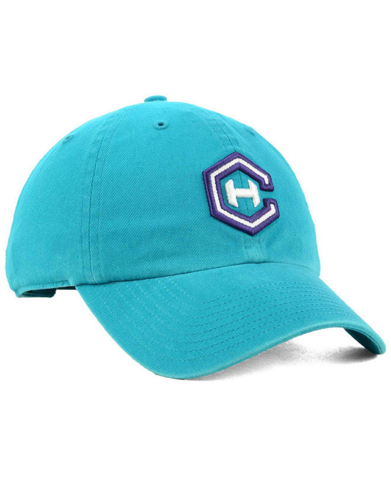 0823df1d90cc20 ... promo code for 47 brand blue charlotte hornets mash up clean up cap for  men lyst