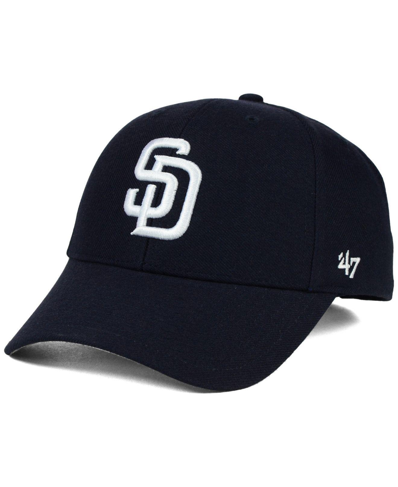 3068363ab86f0 Lyst - 47 Brand San Diego Padres Mlb On Field Replica Mvp Cap in ...