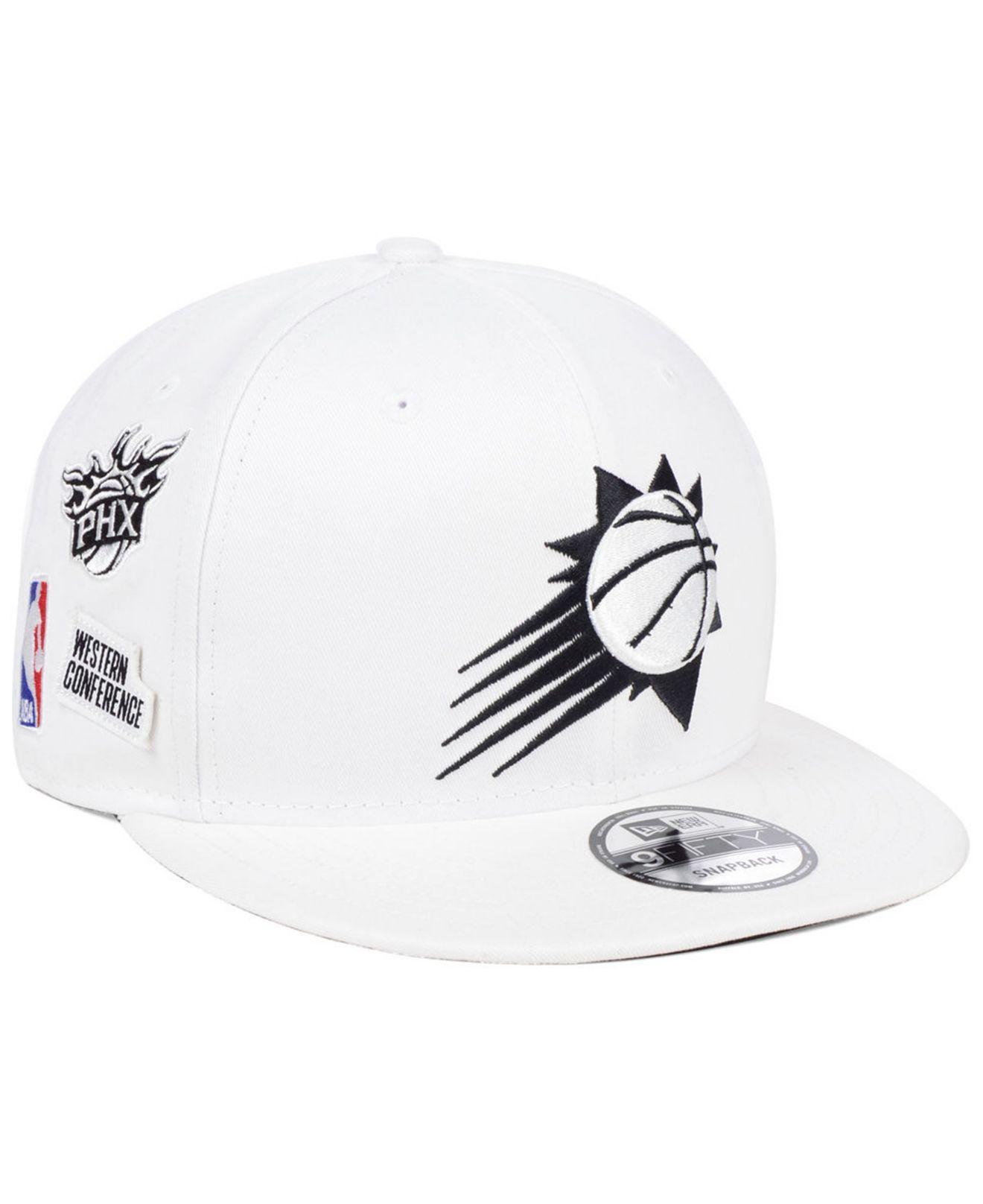 the latest 95b89 21a78 ... uk ktz white phoenix suns night sky 9fifty snapback cap for men lyst.  view fullscreen