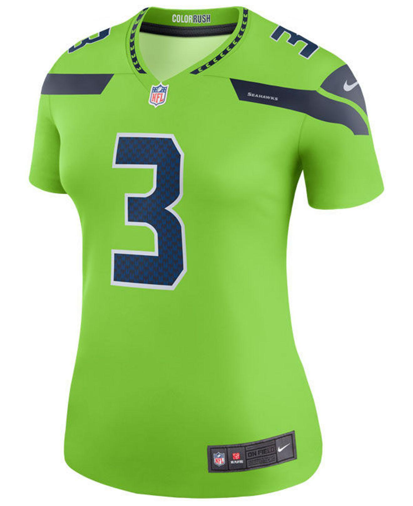 big sale 360cd 736f7 Lyst - Nike Women's Color Rush Legend Jersey in Green