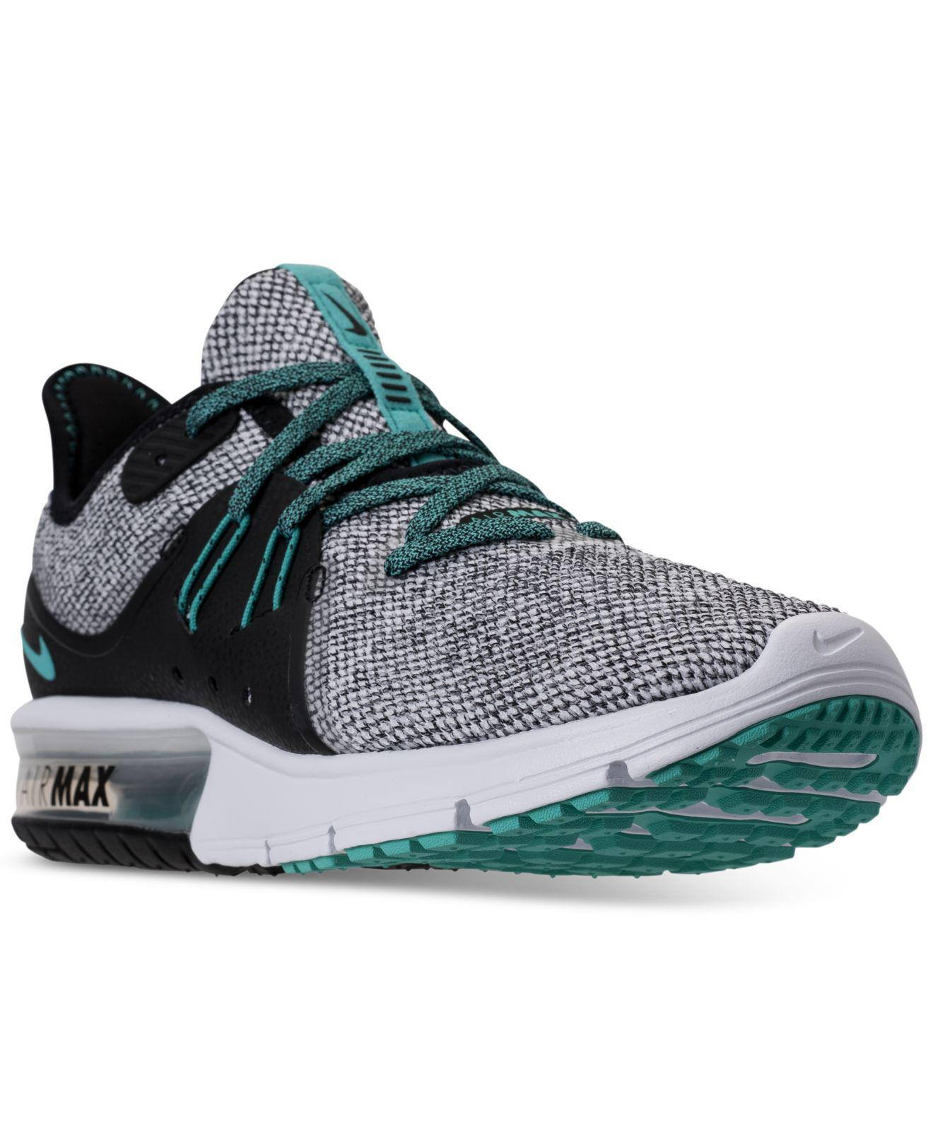 ca089383f9a Lyst - Nike Air Max Sequent 3 Running Sneakers From Finish Line in ...