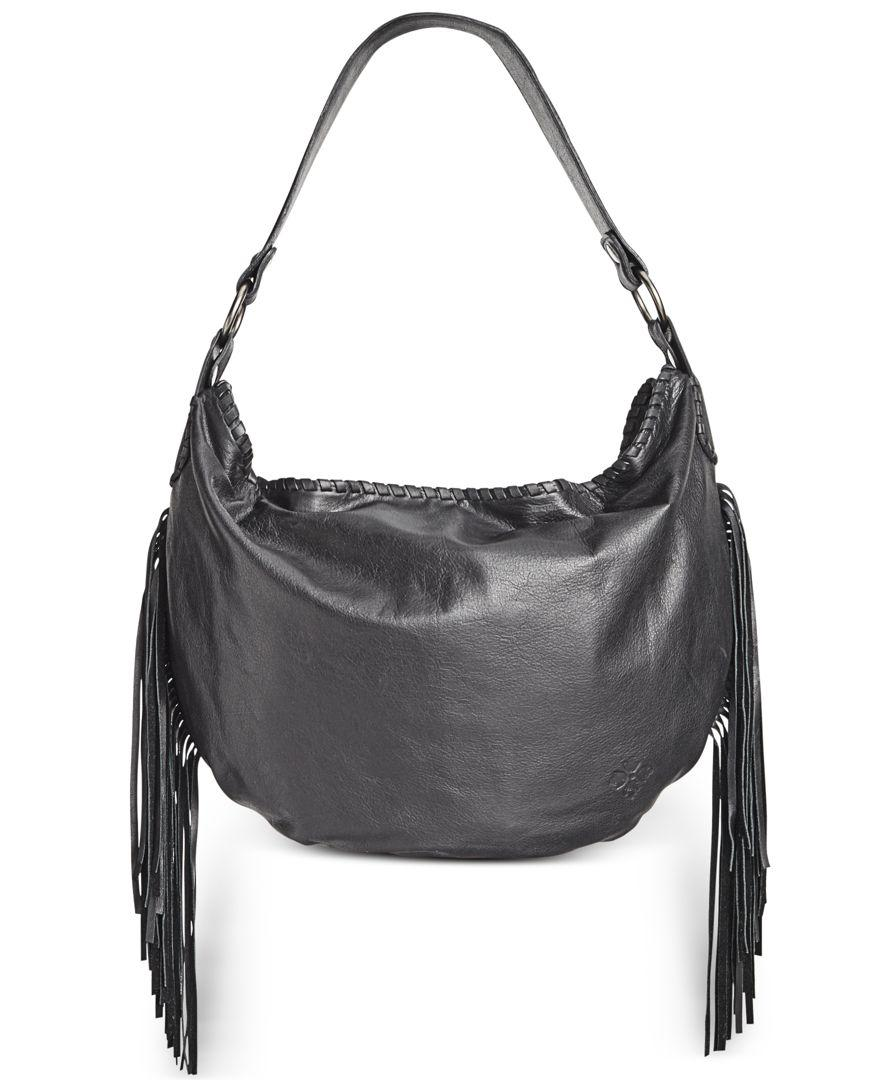 31287b23e99a Lyst - Patricia Nash Vincenzo Slouchy Hobo in Black