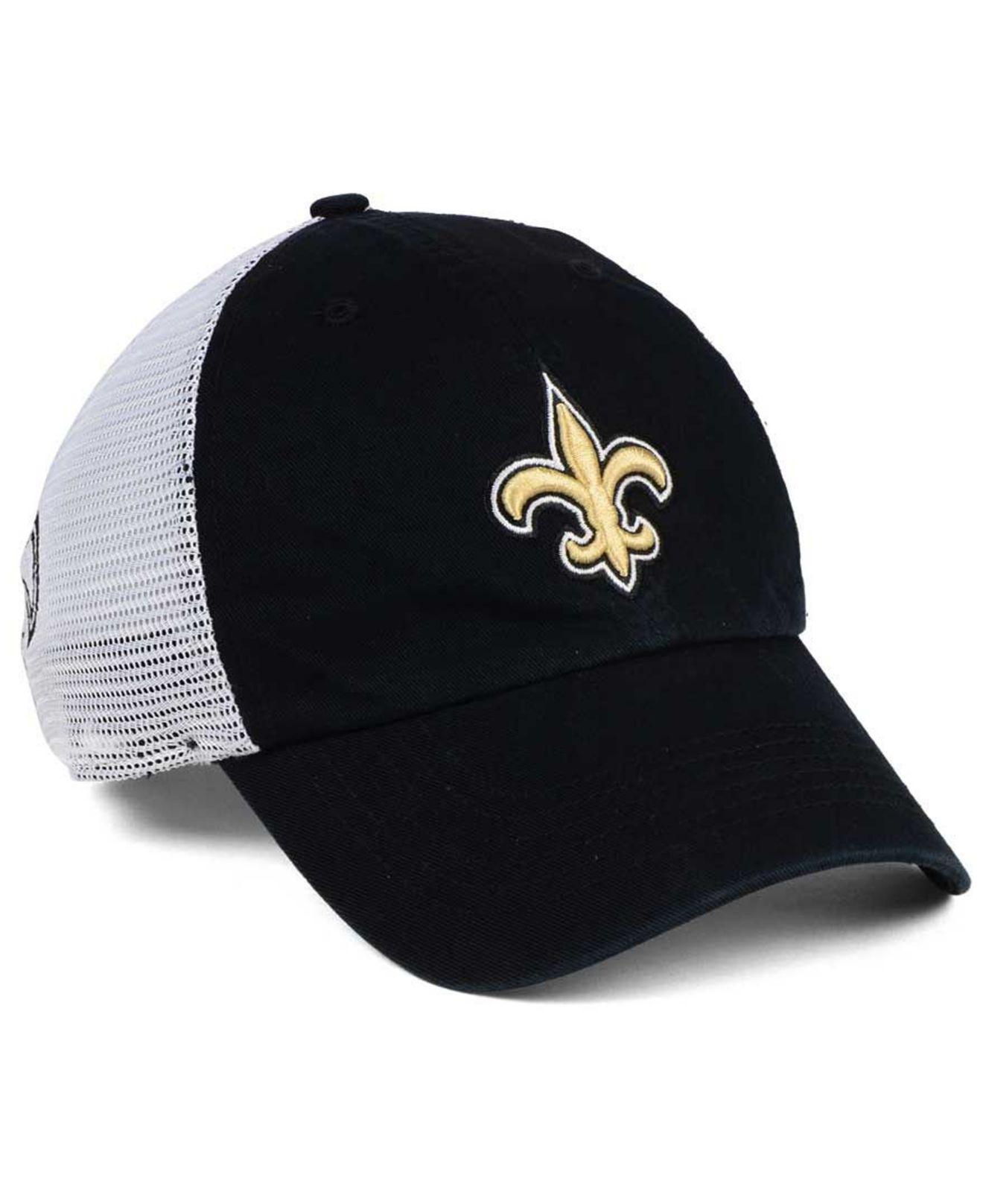 ... best price lyst 47 brand new orleans saints deep ball mesh closer cap  in 95ce7 5a4de 0488fd360