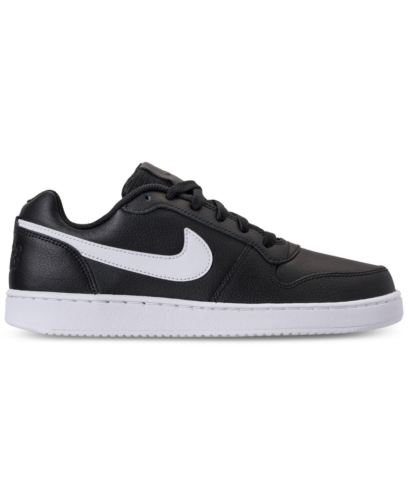 aac3f318ae Lyst - Nike Ebernon Low Casual Sneakers From Finish Line in Black for Men