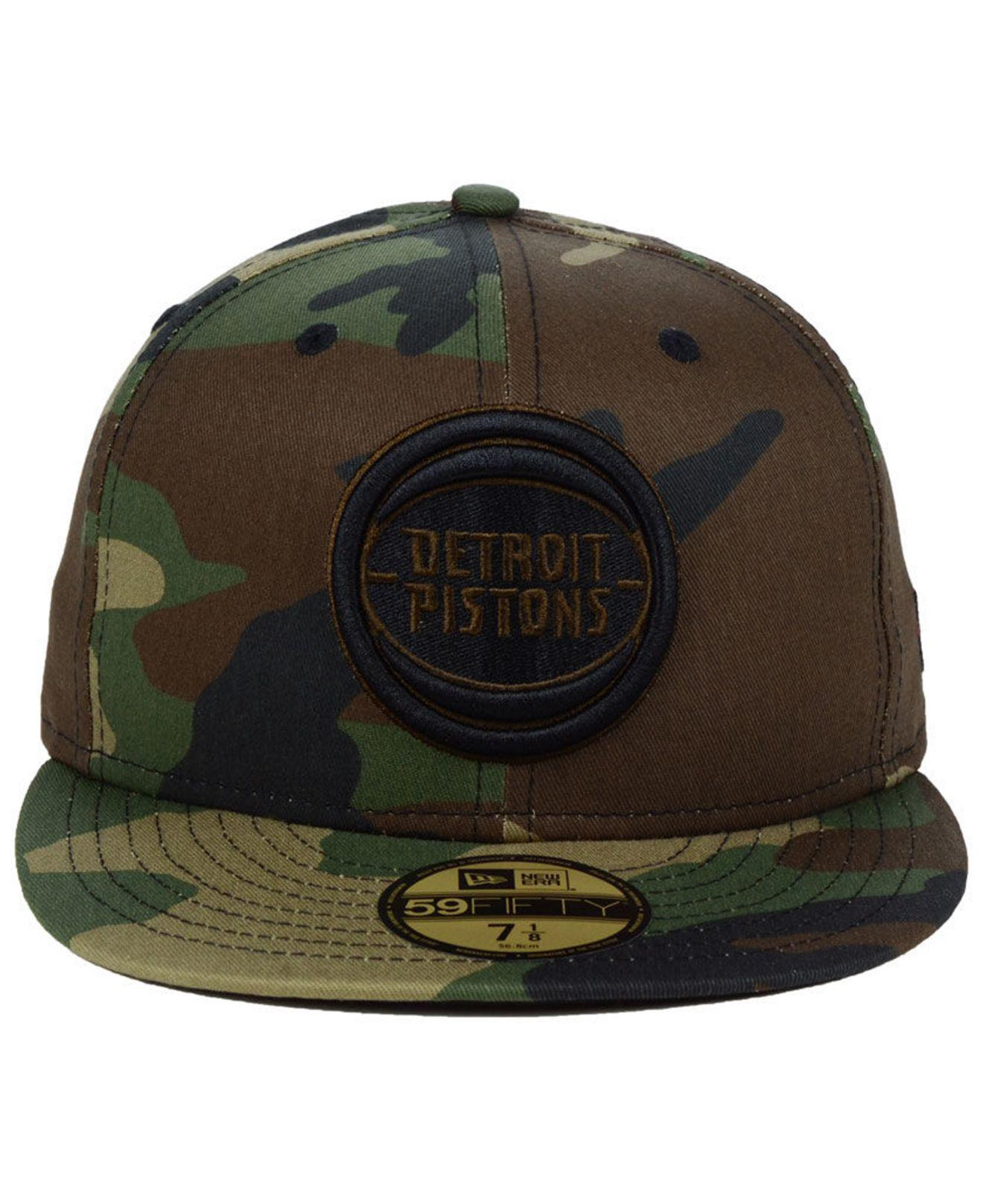 size 40 98547 c00af Lyst - KTZ Detroit Pistons Fall Prism Pack 59fifty-fitted Cap in Green for  Men