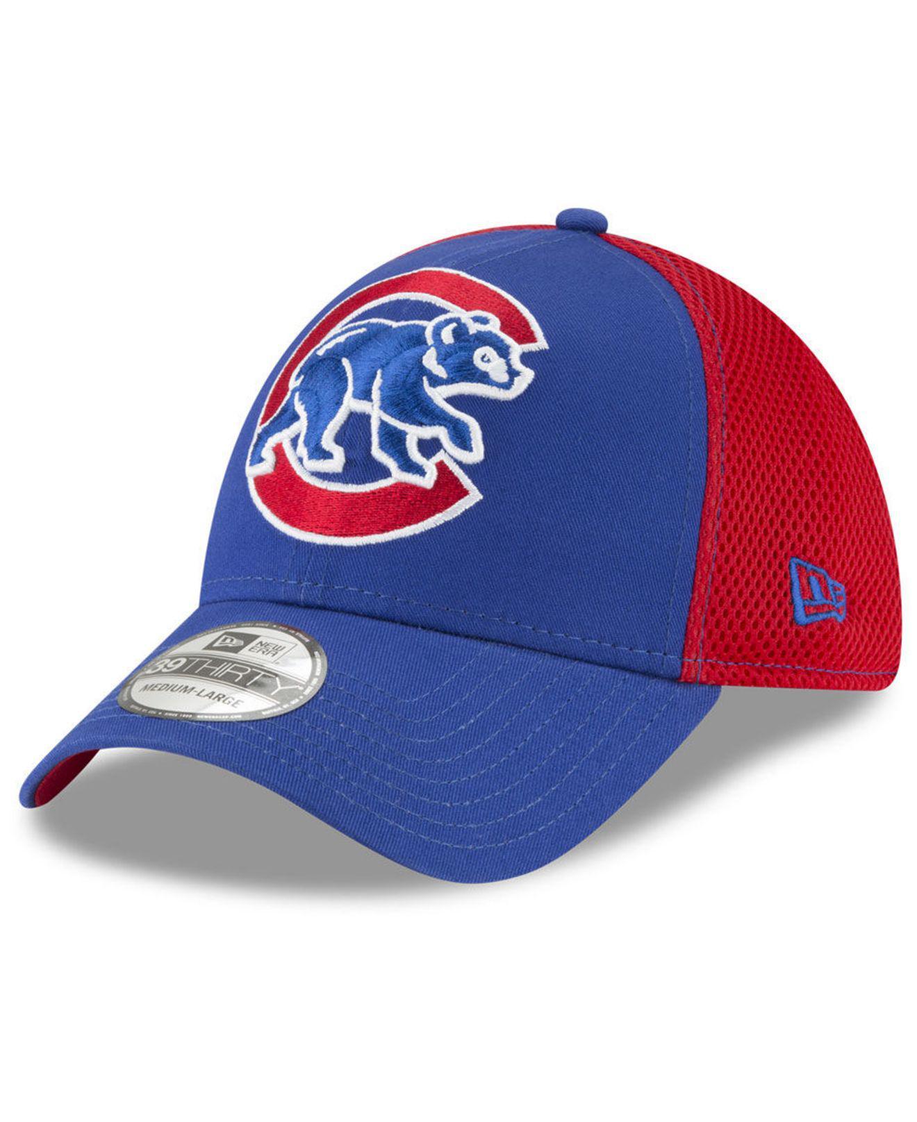 quality design 03955 8150f KTZ - Blue Chicago Cubs Mega Team Neo 39thirty Cap for Men - Lyst. View  fullscreen