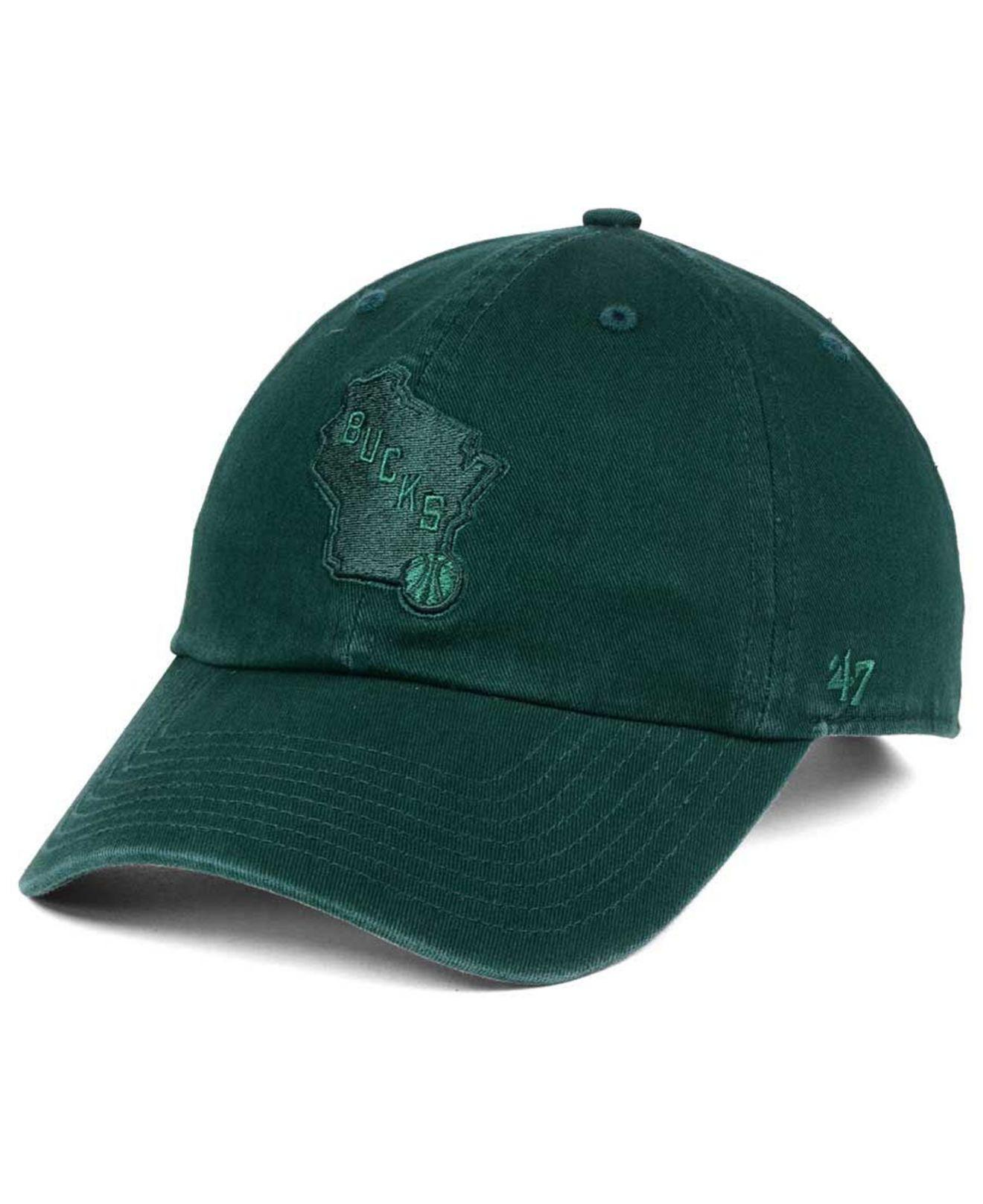 the latest 8286c 1a096 Lyst - 47 Brand Triple Rush Clean Up Cap in Green for Men
