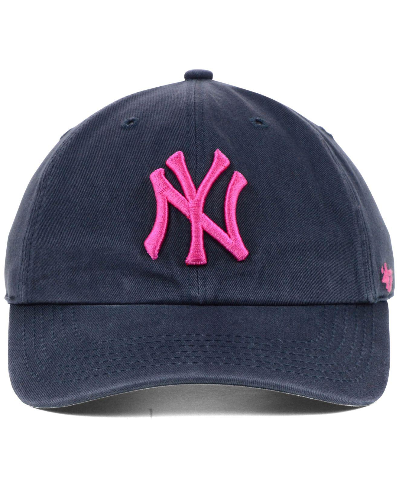 Lyst - 47 Brand New York Yankees Clean Up Cap in Blue for Men c42e261b3909