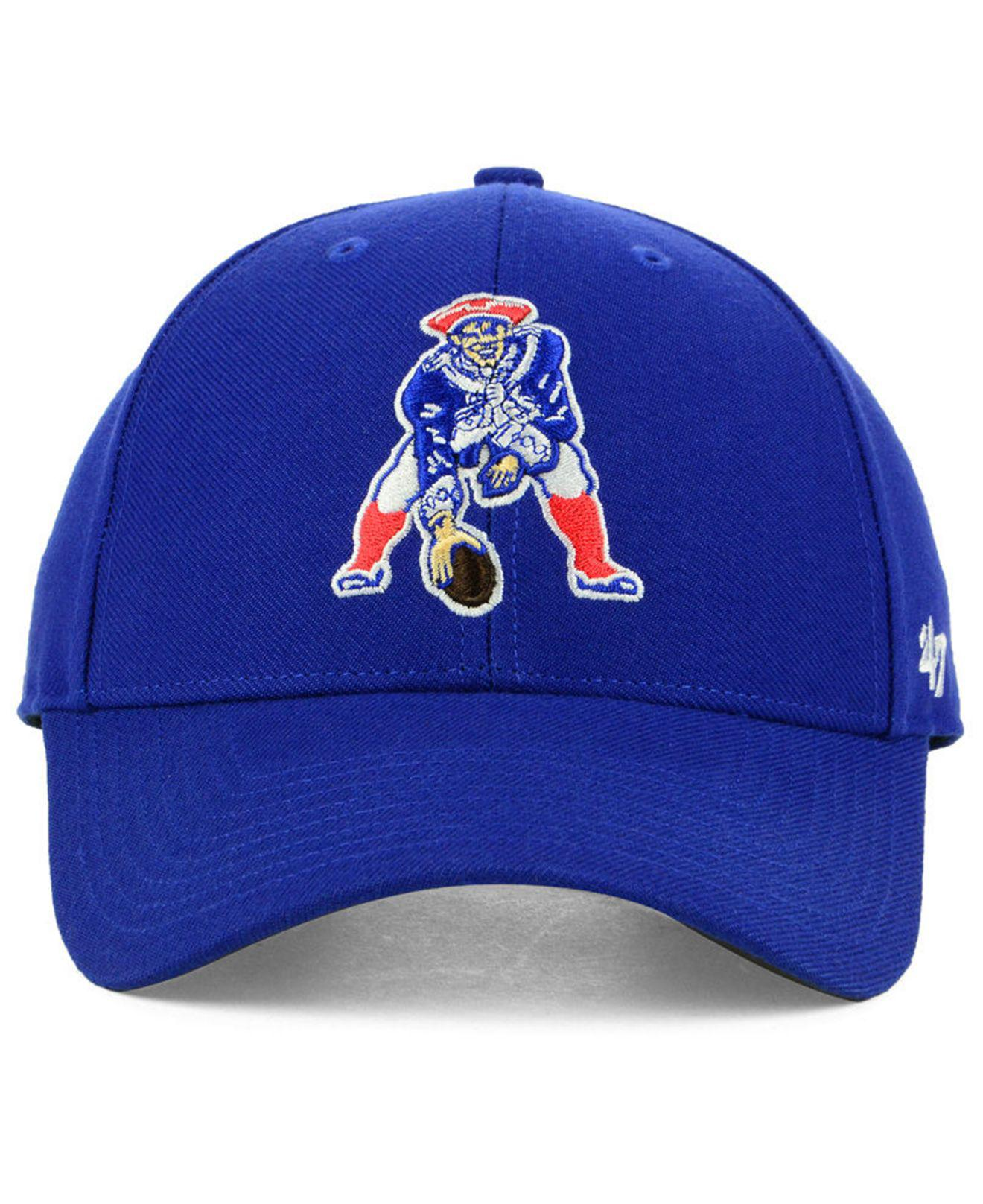 00d5b4abf1838 ... low price lyst 47 brand new england patriots mvp cap in blue for men  7ec85 6b57a