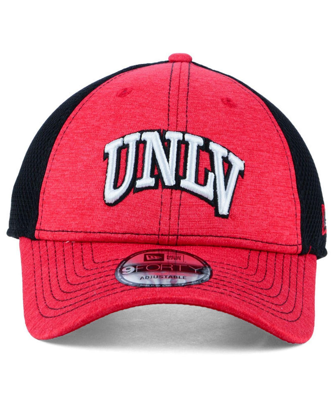 new style a1085 71a20 Lyst - KTZ Unlv Runnin  Rebels Shadow Turn 9forty Cap in Red for Men