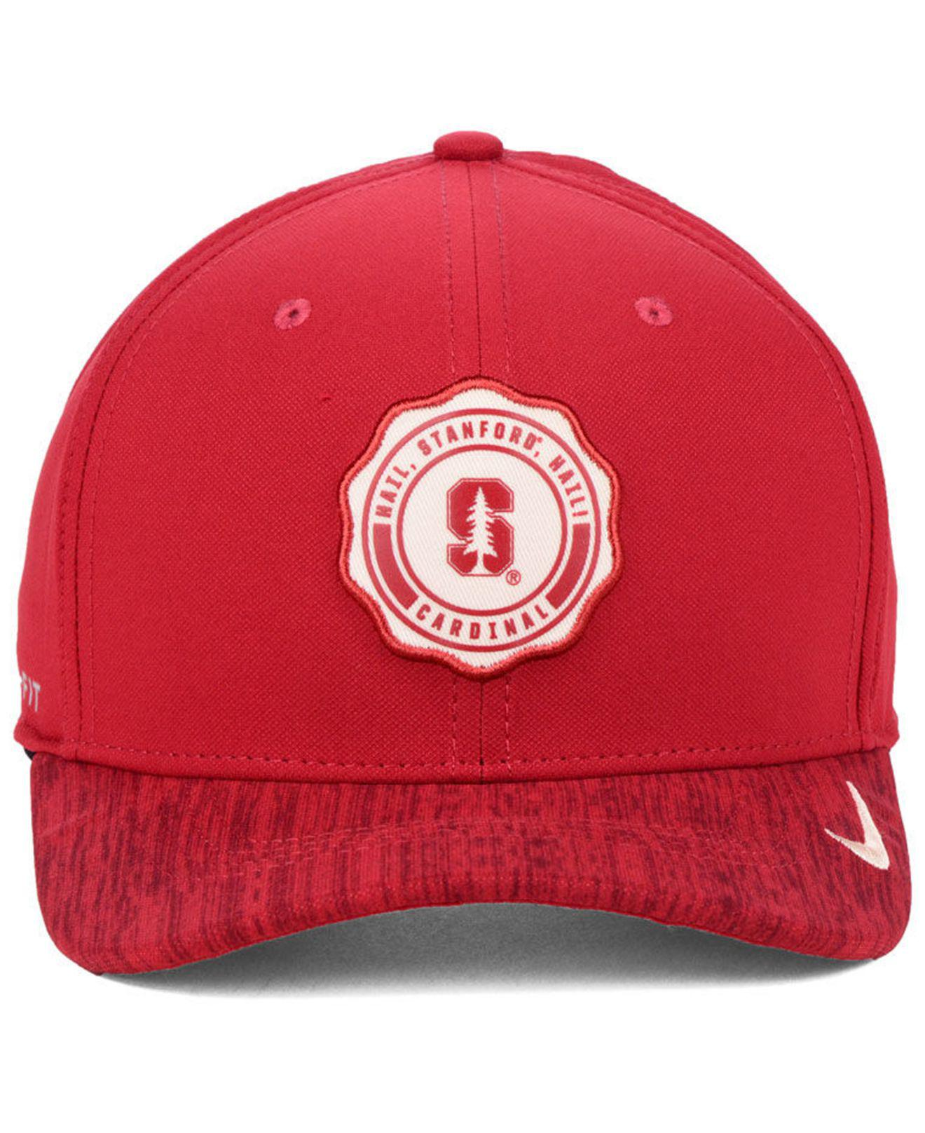5cfccd15d90 Lyst - Nike Stanford Cardinal Rivalry Cap in Red for Men
