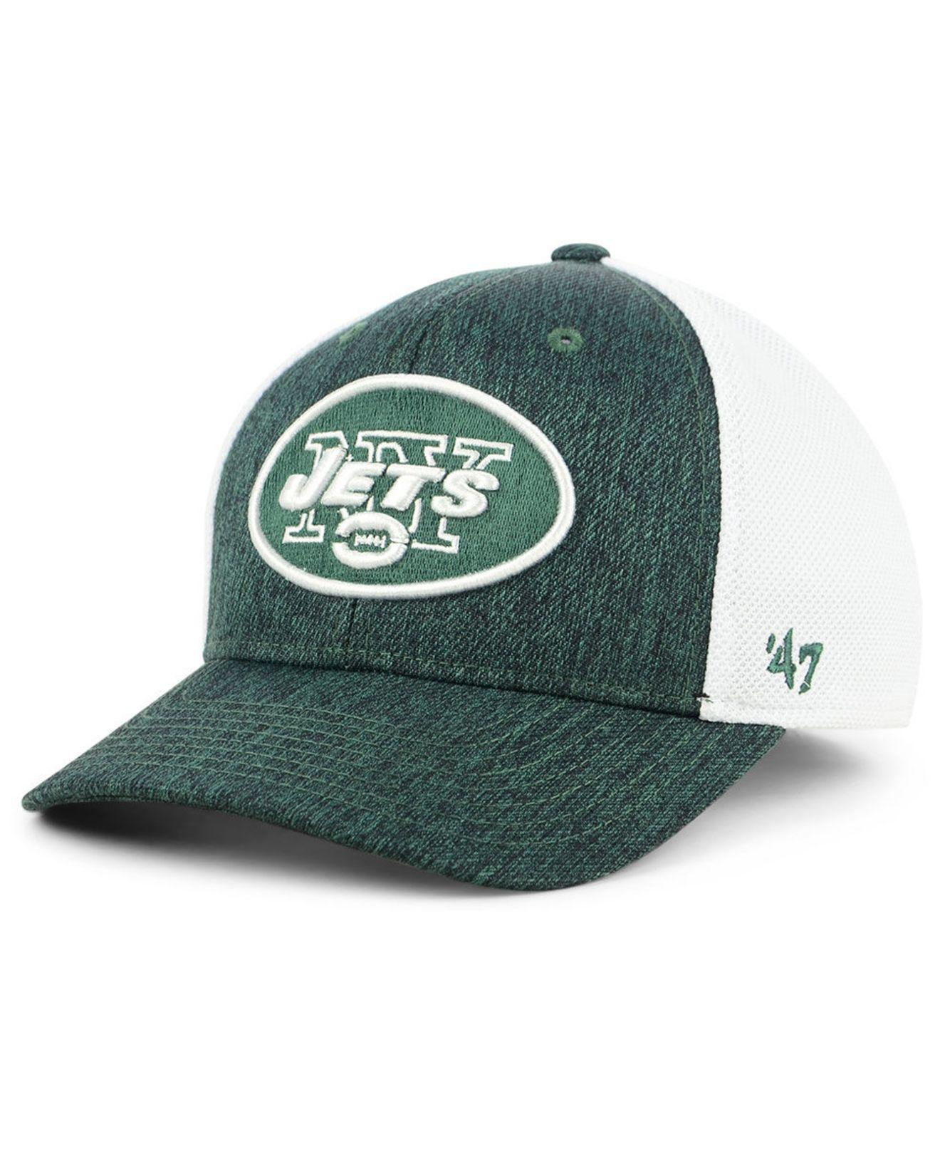 huge selection of 5fb1f bbd25 Lyst - 47 Brand New York Jets Hazy Flex Contender Stretch Fitted Cap ...